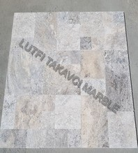 SILVER TRAVERTINE 3 CM PAVER