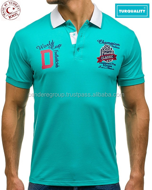 Mens polo collar 2018 new design men polo t shirt wholesale cotton fabric