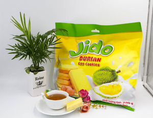 JIDO durian egg cookies 280gr - SR1