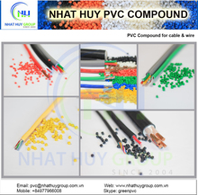Flexible PVC compound for cable and wire (factory price)