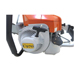 Chinese C970 firefighter tool handheld chainsaw 105 cc chainsaw