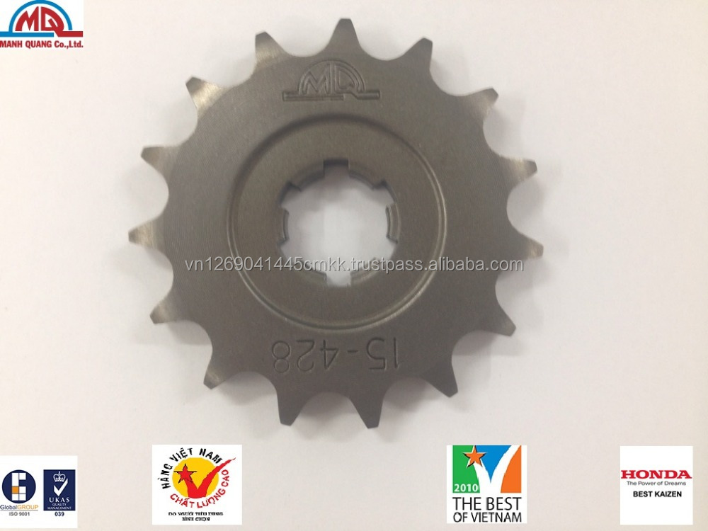 Best quality sprocket, font sprocket for motocycle