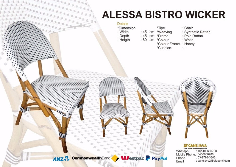 Bistro Chair_Synthetic Rattan