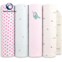 Plain printing 100% Cotton Baby Woven Soft feel Flannel Fabrics,High Quality Muslin Fabric For Baby Blanket For Custom