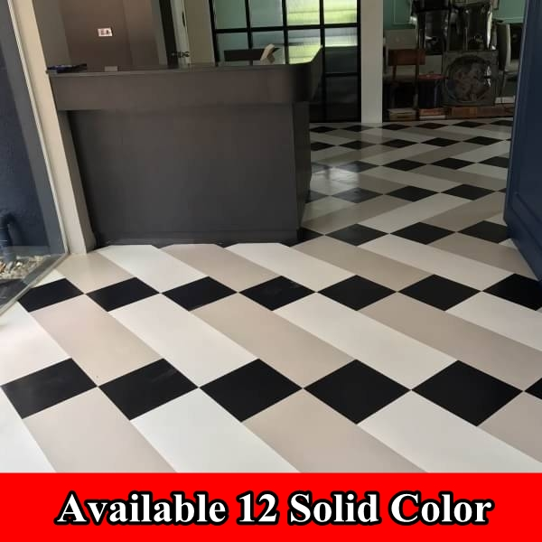 solid quality manufacturer waterproof homogeneous vinyl PVC plastic rubber flooring sheet