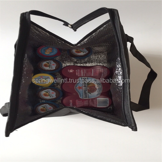 Light Weight 90/100GSM Non-Woven Fabric Material Lunch Cooler Bag