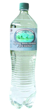 Natural ecologically pure drinking mineral water Sparkling for Private Label