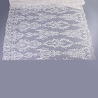 fashion wedding dress corded beaded embroidery ivory bridal lace fabric