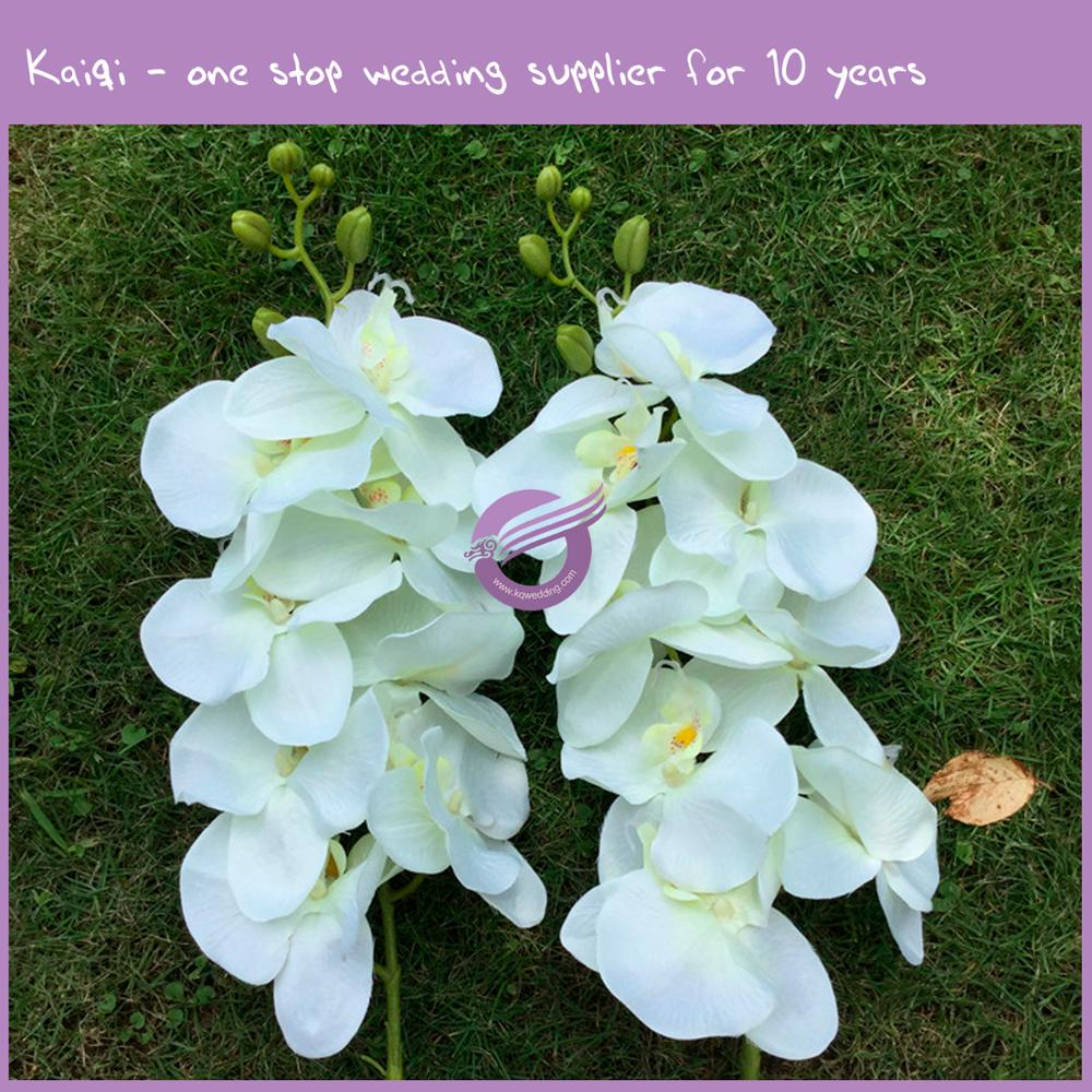 RH00970 Green Factory wholeasle cheap flowers artificial Plastic butterfly Orchids