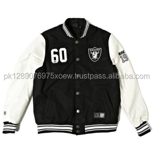 2018 spring winter custom college wear varsity jacket