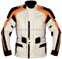 Men Codura Motorbike Jackets Motorcycle cordura jacket, 100% Water proof with CE