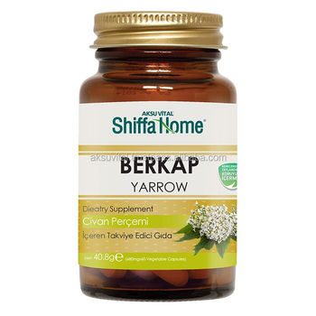 Yarrow Extract Capsules for Hemorrhoids Treatment BERKAP Pills ...