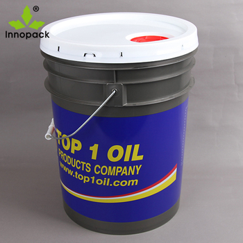 Wholesale PP material 20 liter drum for water with lid with handle