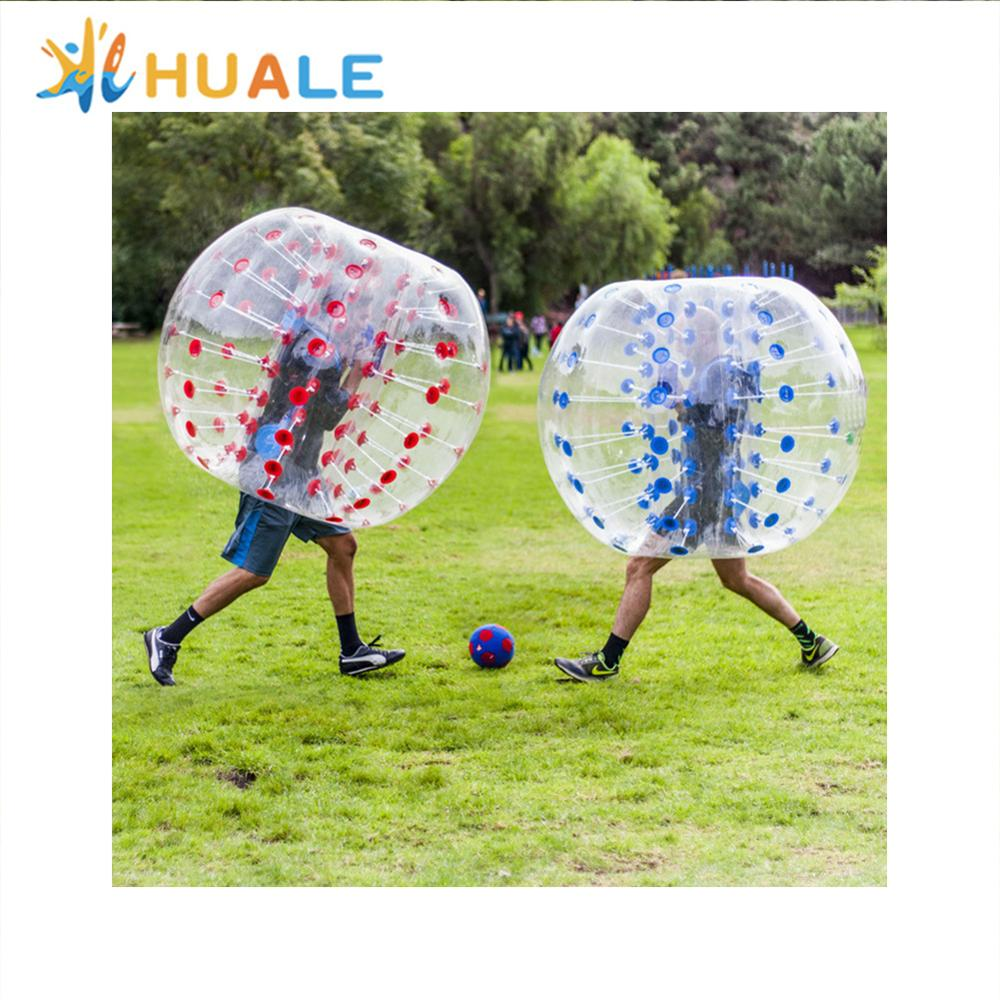 Cheap outdoor water commercial inflatable body bumper <strong>ball</strong> for adult