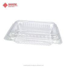 Plastic BOPS disposable food container cake fruit