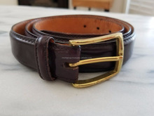 Dark Brown Genuine Leather Belt IM.3136