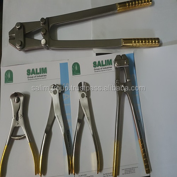 Hard Ware Cutter & pliers 5 pieces Veterinary Orthopedic Instruments