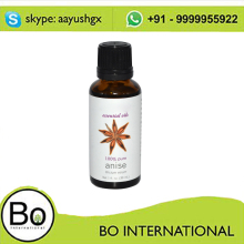 EU Certificated Steam Distillation Star Anise Essential Oil 99% Anethole Bulk Prices