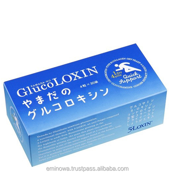 Healthy joints and bones GLUCOLOXIN made in Japan, 30 days doses, relieve pain, strengthen bones and joints. OEM available