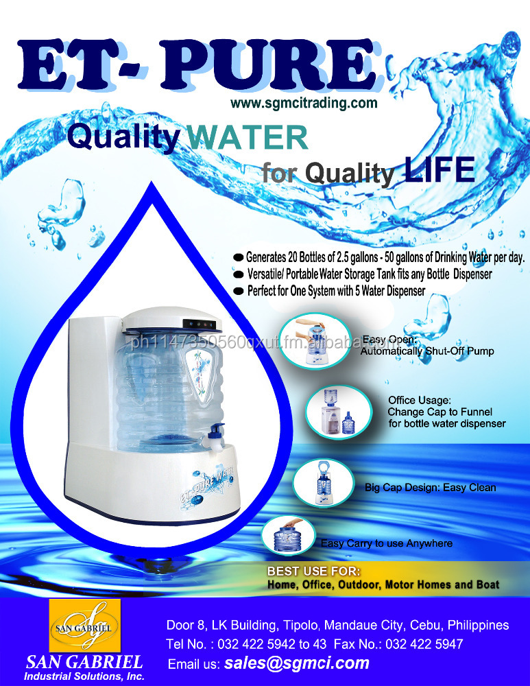 Drinking Water Ro System - ET Pure