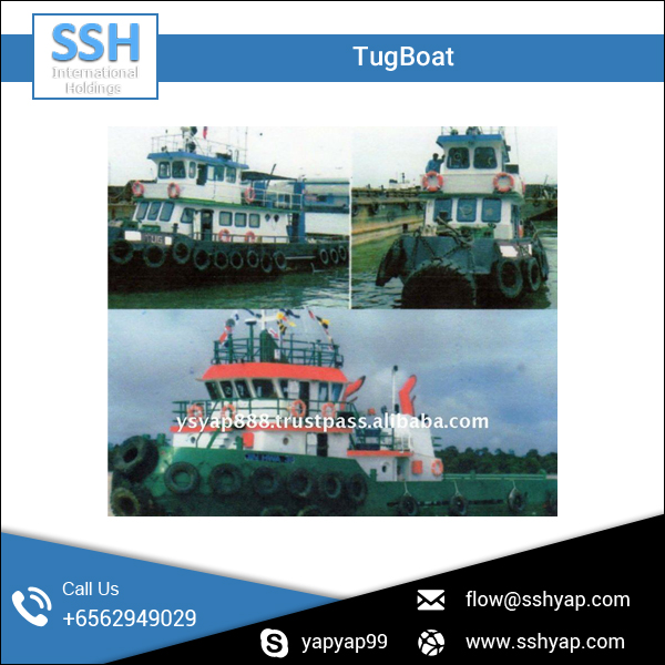 TugBoat for Transport and Ferry Vessel Available at Export Sale