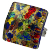 Murano glass adjustable ring bijoux--------------------------MADE IN ITALY