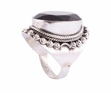 Smoky Topaz Rings in 925 Sterling Silver Wedding Jewelry For Anniversary Party