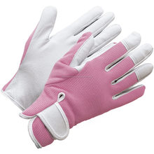 Ladies Leather Gardening Gloves Feminine Slim-fit Work Gloves