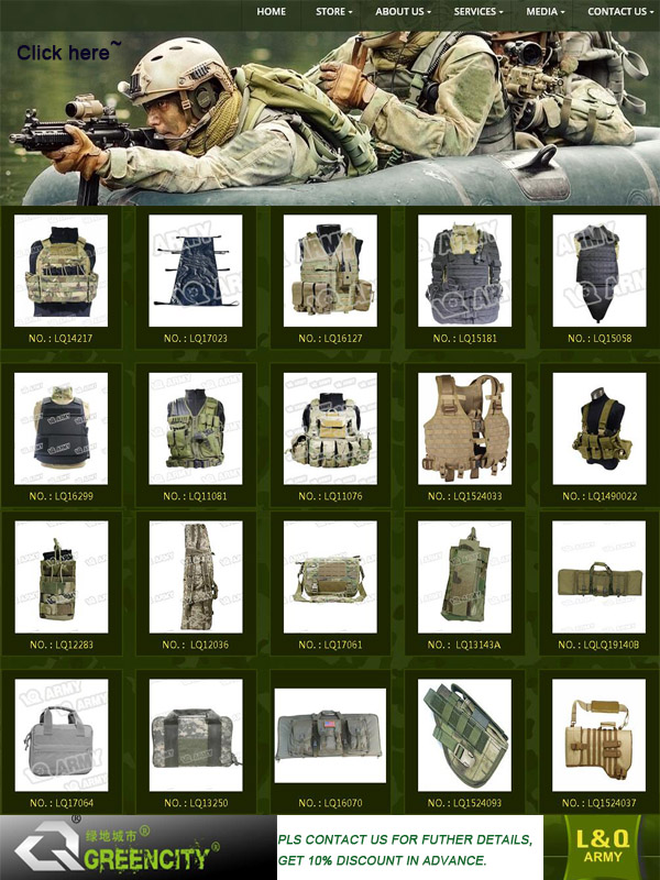 Army Cloth Army Uniform Stock with Various Sizes and Colors