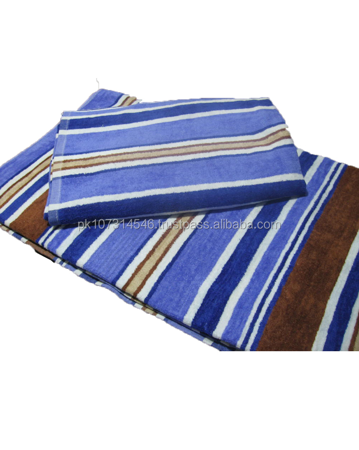 Hot Sale 100% Cotton Beach towels
