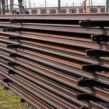 Ferrous metal Scrap used rails hms 1 2 Scrap