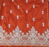 TRADITIONAL AFRICAN GEORGES TOP QUALITY EMBROIDERY BEADED BRIDAL INDIAN FABRICS