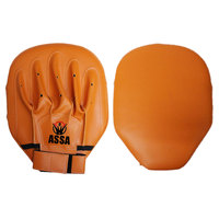 High Quality Leather Training target punch pads / PU boxing focus mitts