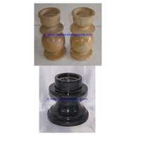 New Product marble candle holders column pillar pedestal stands tea lights