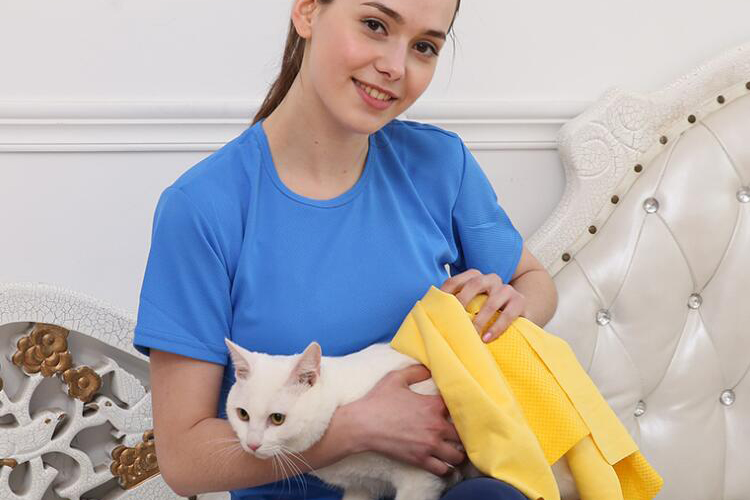 quick drying chamois cellulose pva pet absorbent towel