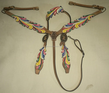 Horse Western Bridle Sets Fancy One Ear