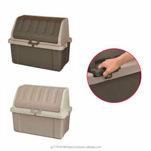 Waterproof and High quality outdoor plastic storage container with key lock at reasonable price