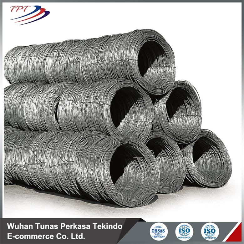 SAE1006 SAE1008 Steel Wire Rod For Wire Mesh