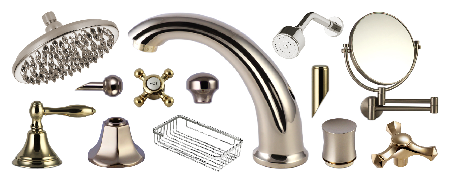 Brass Faucet Single Handle Faucet Component