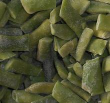 Frozen cut Romano beans, frozen vegetables IQF