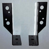 Dived Beam Socket Fitting - Carbon Steel with Electrostatic Paint Colors Black and Galvanized