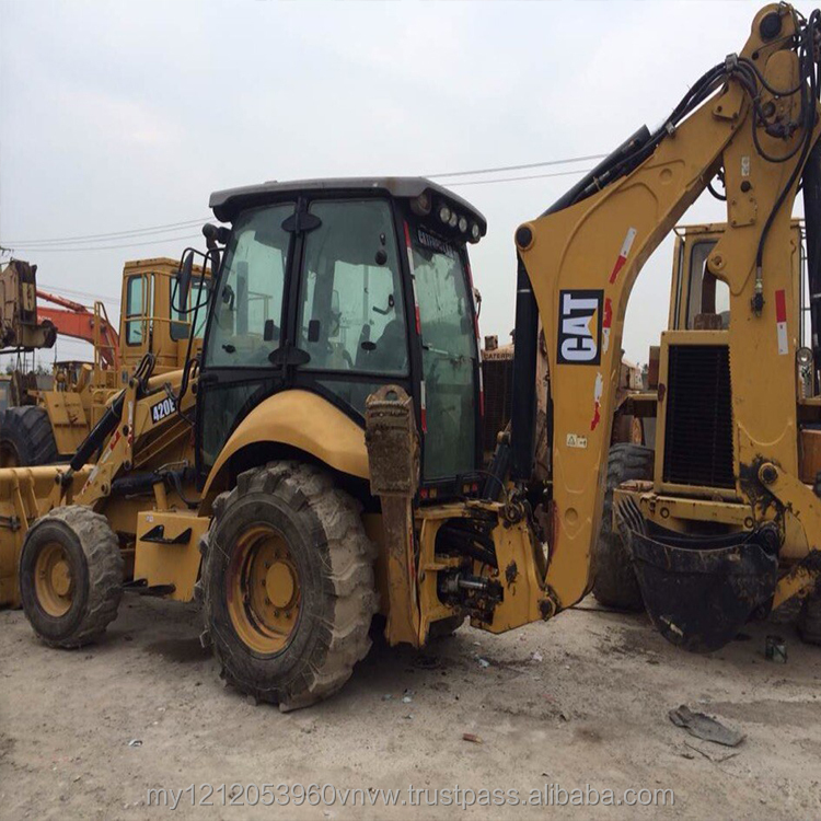 High quality used CAT caterpillar 420e backhoe loader,used cat 416 420 426 backhoe loader