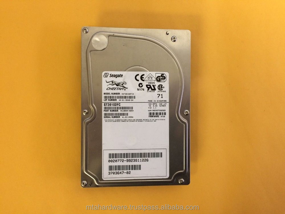 USED Seagate HDD 9GB 10K FC U160 3.5 ST39103FC ST39102FC Tested Good Condition