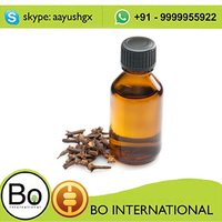 100%natural food/cosmetic grade clove leaf bud Essential Oil 85%+for toothaceh food additives