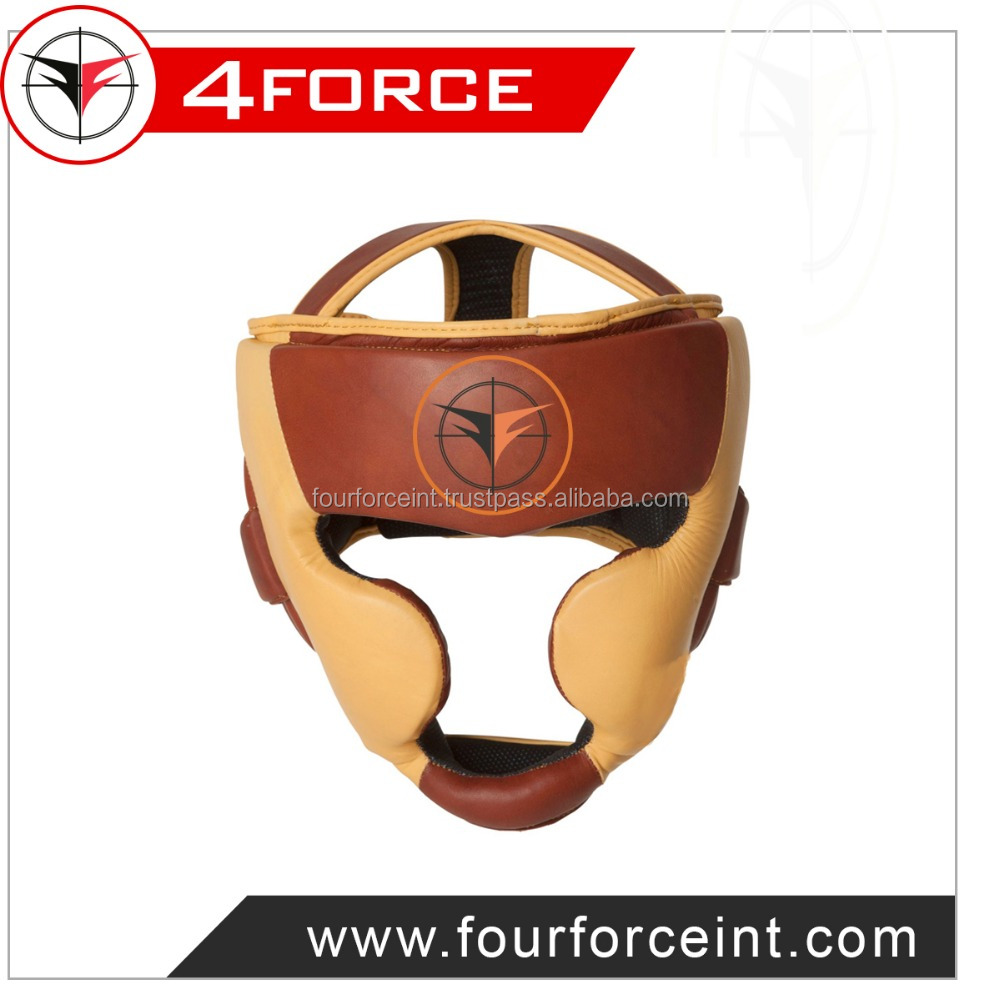 Leather Boxing Head Guard,full face Boxing Head Guard