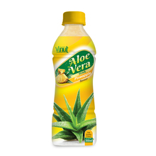 350ml tropical aloe vera juice drink with Pineapple flavour