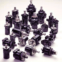 Low Speed High Torque Torqmotor Series of hydraulic motors manufactured by Taiyo Parker. Made in Japan