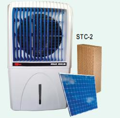 portable solar DC air cooler with water tank STC 2