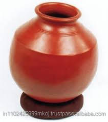 CLAY WATER POT SMALL