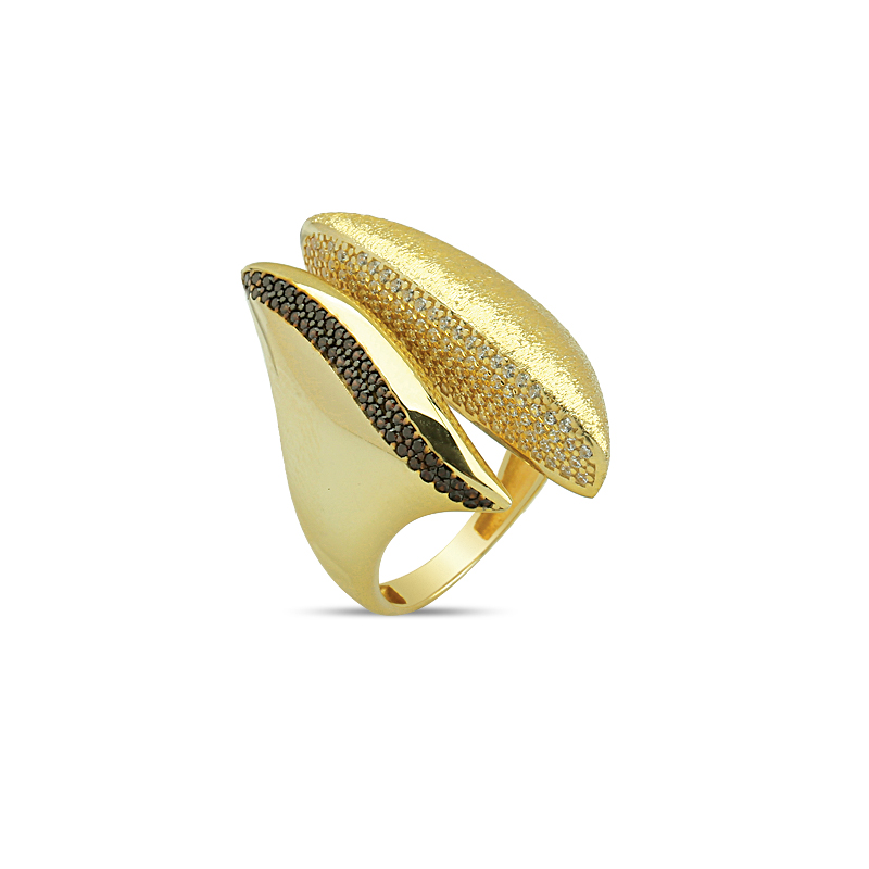 FANTASY CUT RINGS, TOP QUALITY, STYLISH GOLD,